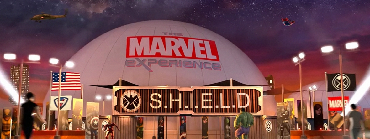 Unified Field developed a suit of interactives for the Marvel Experience that run the gamut from gesture technology to touch screens and augmented reality.