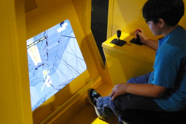 Unified Field Interactive Studio created a number of simulators for the Kennedy Space Center Space Shuttle Atlantis Attraction.