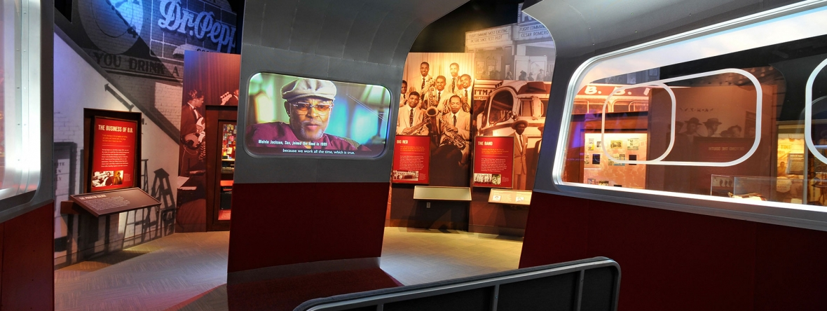Unified Filed Interactive Studio developed all of the multimedia interactives at the B.B. King Museum and Delta Interpretive Center.