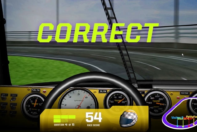 Unified Field Interactive Studio created a host of Multimedia programs for NASCAR Hall of Fame.