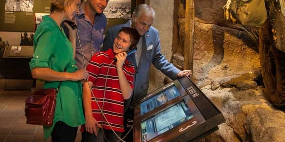 The RFID Dog Tag Experience at the National WWII Museum developed at Unified Field Interactive Studio.