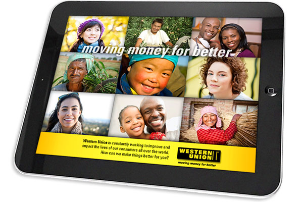 Unified Field created a integrated iPad App with show controls for the Western Union offices.